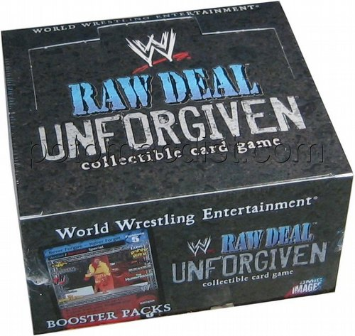 Raw Deal CCG: Unforgiven Booster Box