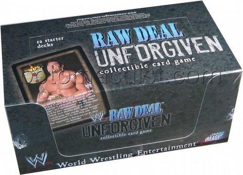 Raw Deal CCG: Unforgiven Starter Deck Box