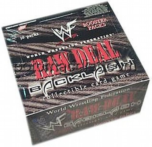 Raw Deal CCG: Backlash Booster Box