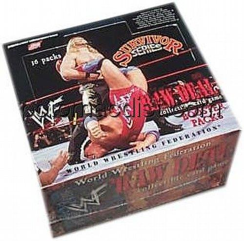 Raw Deal CCG: Survivor Series 1 Booster Box