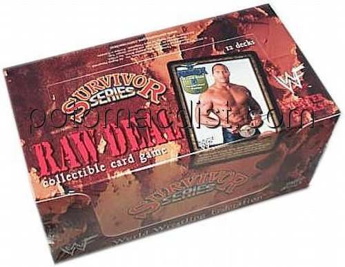 Raw Deal CCG: Survivor Series 1 Starter Deck Box
