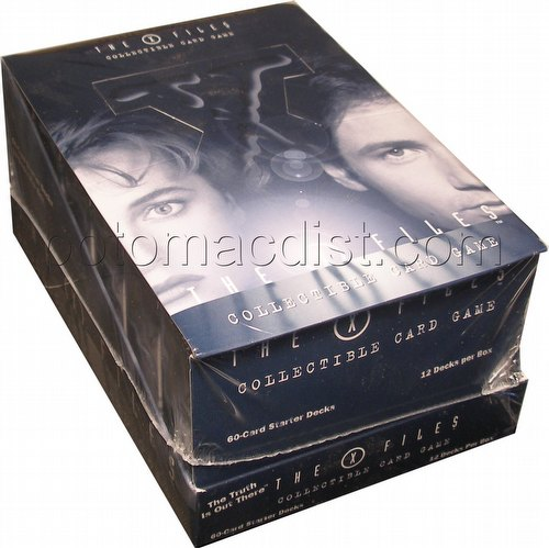 X-Files: The Truth is Out There Starter Deck Box
