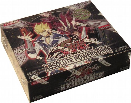 Yu-Gi-Oh: Absolute Powerforce Booster Box [Unlimited Edition]