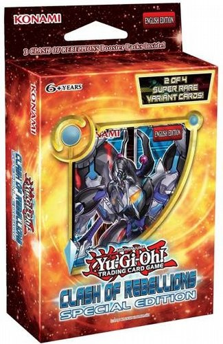 Yu-Gi-Oh: Clash of Rebellions Special Edition Case [12 boxes]