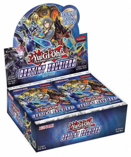 Yu-Gi-Oh: Destiny Soliders Booster Box [1st Edition]