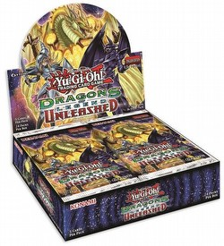 Yu-Gi-Oh: Dragons of Legend Unleashed Booster Box Case [12 boxes]