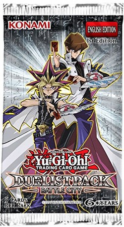 Yu-Gi-Oh: Duelist Pack - Battle City Booster [5 Packs]