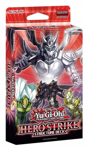 Yu-Gi-Oh: Hero Strike Structure Deck Case [12 boxes]