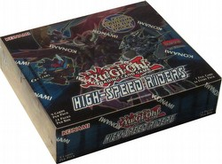 Yu-Gi-Oh: High Speed Riders Booster Box [1st Edition]