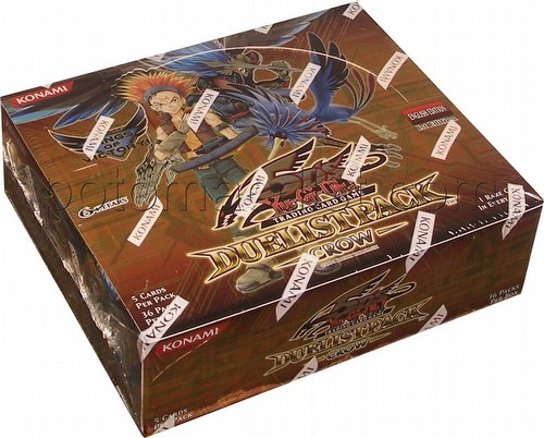 Yu-Gi-Oh: Crow Duelist Pack Booster Box [1st Edition]