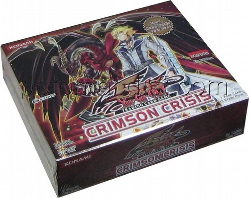 Yu-Gi-Oh: Crimson Crisis Booster Box [1st Edition]