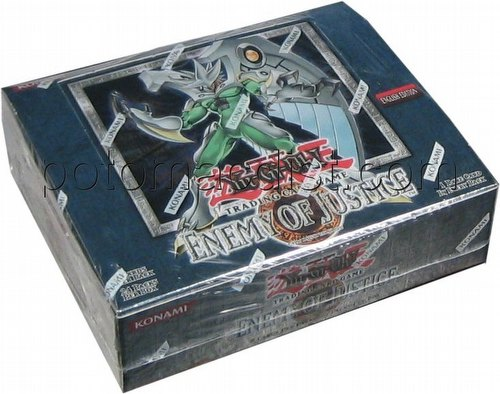 Yu-Gi-Oh: Enemy of Justice Booster Box [Unlimited]
