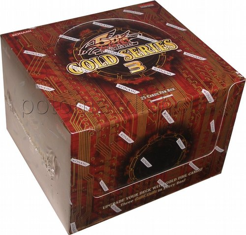 Yu-Gi-Oh: Gold Series 3 2010 Booster Box