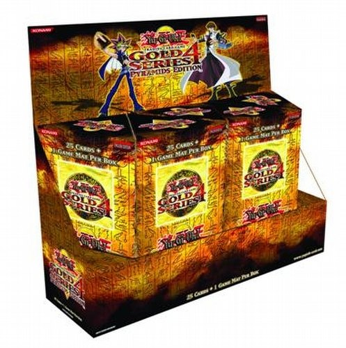 Yu-Gi-Oh: Gold Series 4: Pyramids Booster Case [2011/10 boxes]