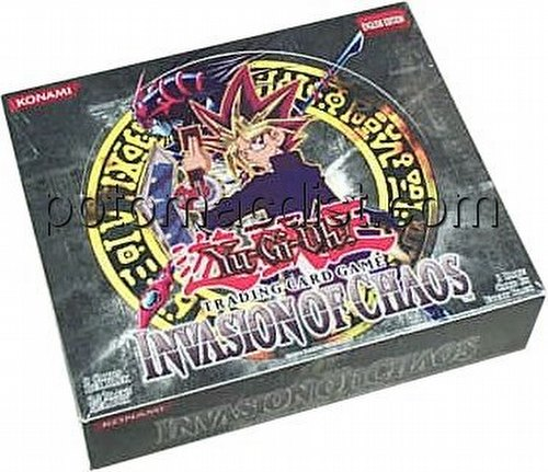 Yu-Gi-Oh: Invasion of Chaos Booster Box [Unlimited/Retail]