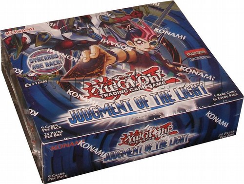 Yu-Gi-Oh: Judgment of the Light Booster Box [1st Edition]