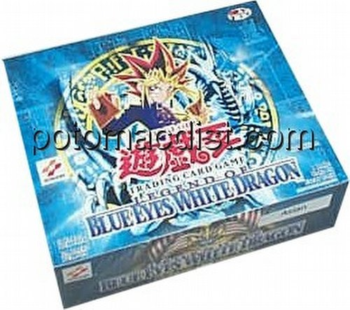 Yu-Gi-Oh: Legend of Blue Eyes White Dragon Booster Box [1st Edition/Asian]