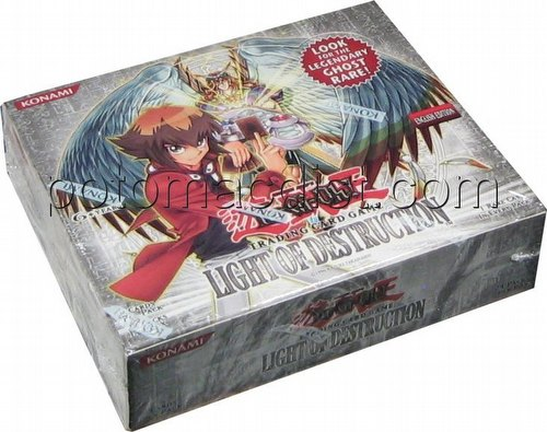Yu-Gi-Oh: Light of Destruction Booster Box [Unlimited]