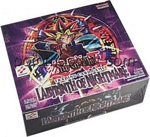 Yu-Gi-Oh: Labyrinth of Nightmare Booster Box [1st Edition/36 packs]