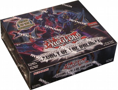 Yu-Gi-Oh: Legacy of the Valiant Booster Box [1st Edition]