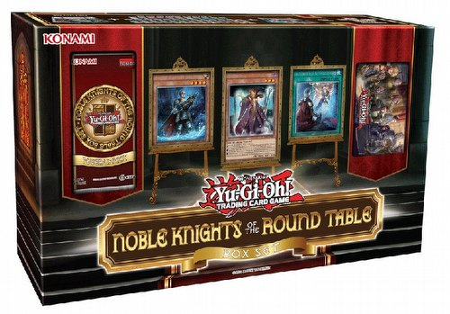 Yu-Gi-Oh: Noble Knights of the Round Table Case [8 Box Sets]