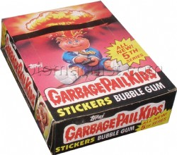 Garbage Pail Kids Series 5 [1986] Gross Stickers Box