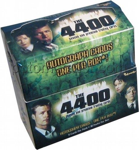 The 4400: Season One Premium Trading Cards Box