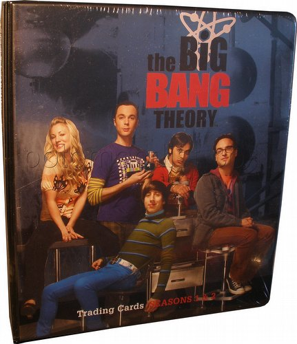 Big Bang Theory Seasons 1 & 2 Binder [Platinum Edition]
