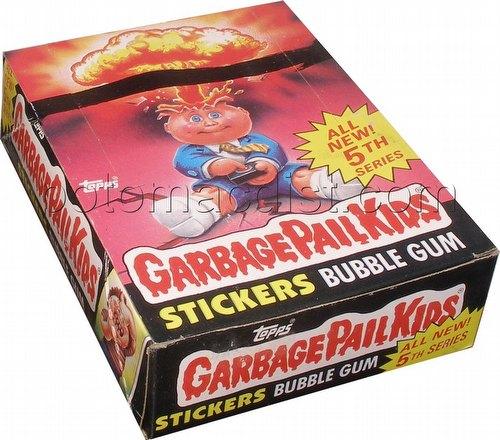 Garbage Pail Kids Series 5 [1986] Gross Stickers Box