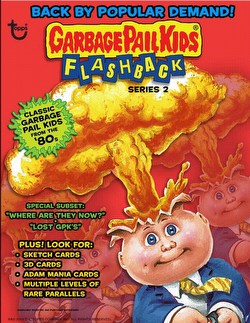 Garbage Pail Kids Flashback Series 2 Gross Stickers Box [Hobby]