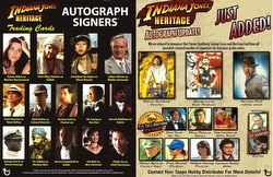 Indiana Jones Heritage Trading Cards Box [Hobby]
