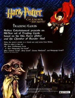 Harry Potter and the Chamber of Secrets Trading Cards Box [Hobby]