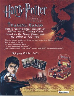 Harry Potter and the Goblet of Fire Trading Cards Box [Hobby]