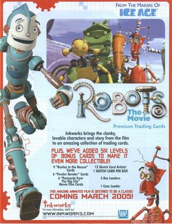 Robots: The Movie Trading Cards Box
