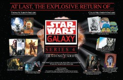 Star Wars Galaxy Series 4 Trading Cards Box [Hobby]