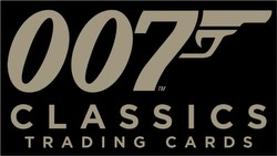 James Bond 007 Classics Trading Cards Box