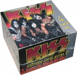 Kiss Series 2 Trading Cards Box [Cornerstone]