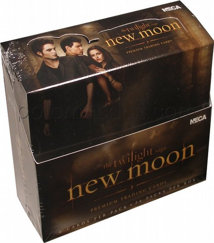 Twilight New Moon Trading Cards Box