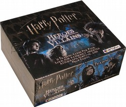 Harry Potter Heroes and Villains Trading Cards Box [Hobby]