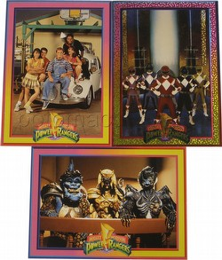 Power Rangers Series 1 3-Card Promo Set