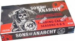Sons of Anarchy Seasons 4 & 5 Trading Cards Box