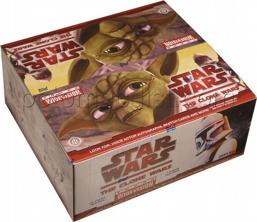 Star Wars: The Clone Wars Widevision Trading Cards Box [Hobby]