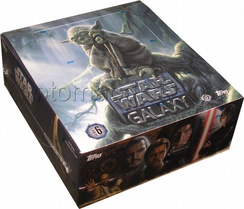 Star Wars Galaxy Series 6 Trading Cards Box [Hobby]