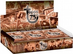 Topps 75th Anniversary Classic Pop Culture Trading Card Box