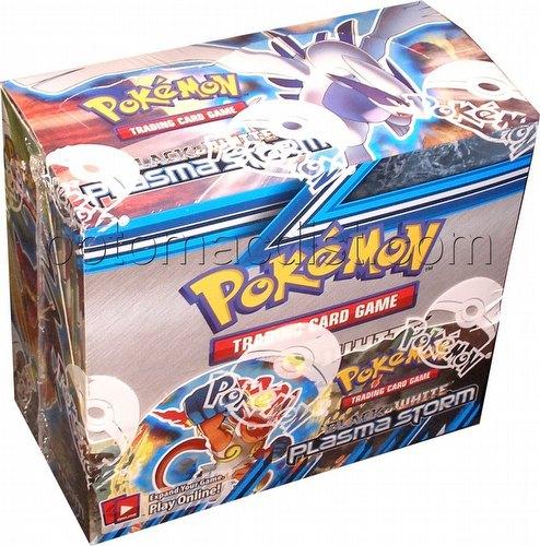 Pokemon b amp w plasma storm booster box potomac distribution