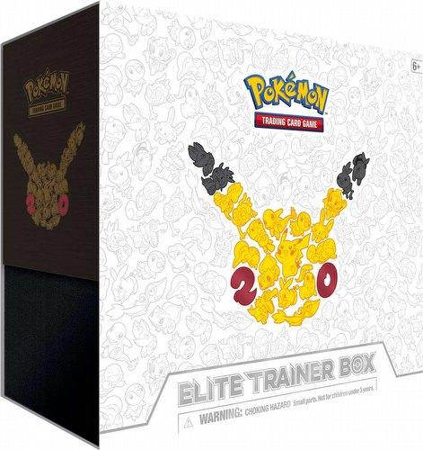 Pokemon tcg generations 20th anniversary elite trainer case 10 boxes