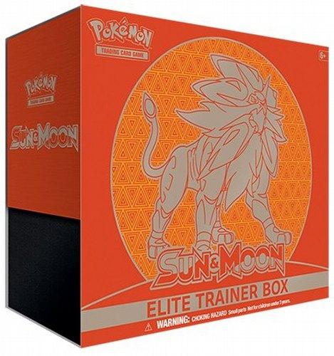 Pokemon: Sun & Moon Elite Trainer Box [Solgaleo]