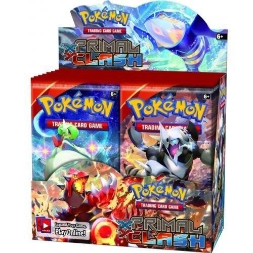 Pokemon xy primal clash booster box 90 potomac distribution