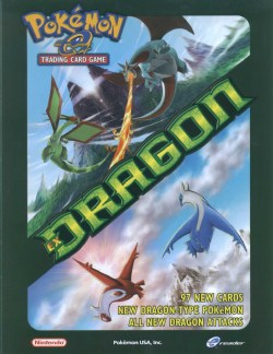 Pokemon TCG: EX Dragon Theme Starter Deck Box