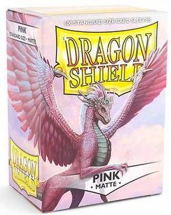 Dragon Shield Deck Protector Box - Matte Pink